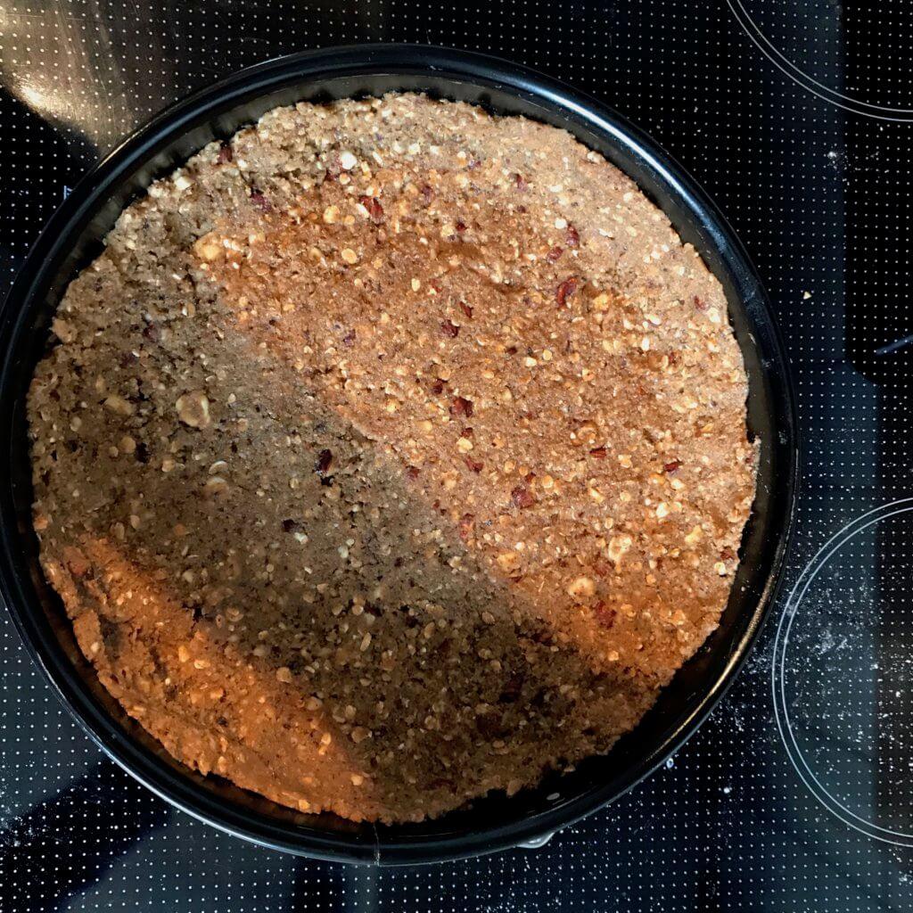Pfirsich-Nuss-Kuchen, Teig